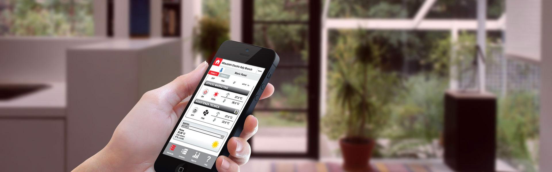Conectați-vă prin smartphone sau tabletă de oriunde vă aflaţi!